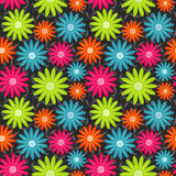 Seamless floral pattern. Flowers texture. Stock Photos