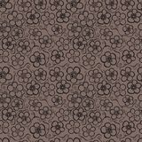 Seamless floral pattern. Flowers texture. Daisy. Royalty Free Stock Photo