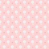 Seamless floral pattern. Flowers texture for girl. Royalty Free Stock Image