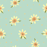 Seamless floral pattern. Flowers texture. Royalty Free Stock Image