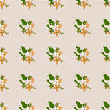Seamless floral pattern. Flowers texture. Royalty Free Stock Photography