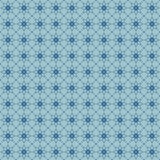 Seamless floral pattern with geometric stylized flowers. Stock Photo