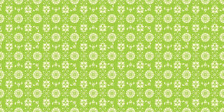 Seamless floral pattern green Royalty Free Stock Image