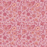 Seamless floral pattern. Royalty Free Stock Photo