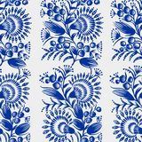 Seamless floral pattern Stock Photography