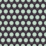 Seamless floral pattern with hand drawn stylized flowers. Royalty Free Stock Photography
