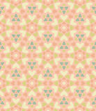 Seamless floral pattern of hearts. Royalty Free Stock Photo
