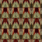 Seamless floral pattern herbs. Stock Images