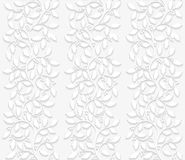 Seamless floral pattern with holly Royalty Free Stock Photos