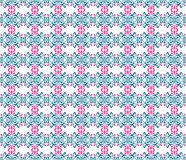 Seamless floral pattern illustration background Stock Photography