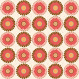 Seamless floral pattern. Floral pattern - Illustration seamless texture Stock Photo