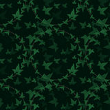 Seamless floral pattern. Ivy elements background Royalty Free Stock Photos
