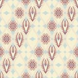 Seamless floral pattern in japanese style Royalty Free Stock Images
