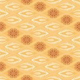 Seamless floral pattern in japanese style Royalty Free Stock Photography