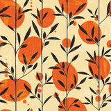 Seamless floral pattern in Japanese style Royalty Free Stock Photos