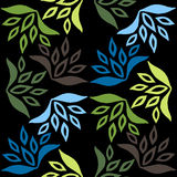 Seamless floral pattern. Leaf texture. Stock Photos