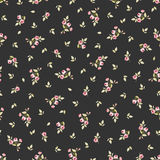 Seamless floral pattern with little red roses Royalty Free Stock Images