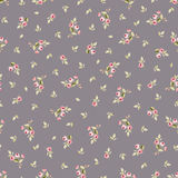 Seamless floral pattern with little red roses Royalty Free Stock Photos