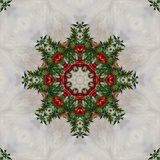 Seamless floral pattern, oil painting Royalty Free Stock Image