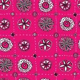 Seamless floral pattern. Stock Photos