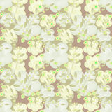 Seamless floral pattern pastel background Stock Images