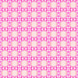 Seamless floral pattern pink white Stock Images