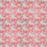 Seamless floral pattern red gray Stock Images
