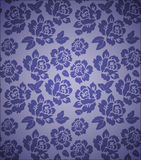 Seamless floral Vector pattern Stock Image