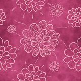 Seamless floral pattern. Romantic background with flowers royalty free illustration
