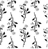Seamless floral pattern with roses. Vector royalty free stock photography