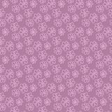 Seamless floral pattern. Seamless pink decorative floral pattern with a chamomile. Vector pattern for printing on fabric, clothes, shawl, headscarf, dress Stock Photography