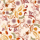 Seamless floral pattern in shades Stock Images