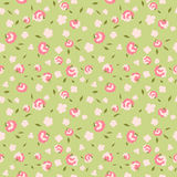 Seamless floral pattern with small flowers. Seamless floral pattern with small pink flowers Royalty Free Stock Photography