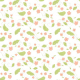 Seamless floral pattern with small flowers. Seamless floral pattern with small pink flowers Stock Image