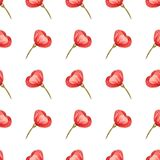 Seamless floral pattern with soft pink blossom can be used for textile printing, ad, background, wallpaper royalty free illustration