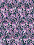 Seamless floral pattern. Stylised seamless floral pattern for various purposes royalty free illustration