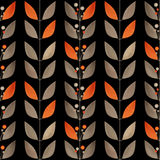 Seamless floral pattern texture abstract background Royalty Free Stock Photos