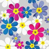 Seamless floral pattern texture background Stock Photo