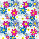 Seamless floral pattern texture background Royalty Free Stock Image