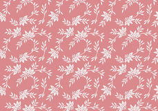 Seamless floral pattern with tiny elements. Can be used for apparel and other merchandise stock illustration