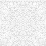 Seamless floral pattern in traditional style Stock Photography