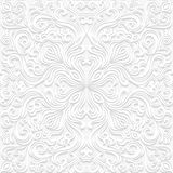 Seamless floral pattern in traditional style Royalty Free Stock Photography