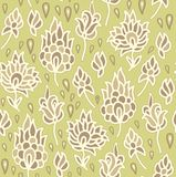 Seamless  floral pattern in turkish  style Royalty Free Stock Photo