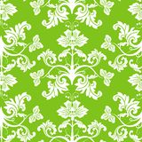 Seamless floral pattern, vector royalty free illustration
