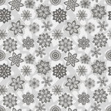 Seamless floral pattern. Seamless vector abstract floral pattern Royalty Free Stock Photo