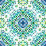Seamless floral pattern. Vector seamless colorful floral pattern background Royalty Free Stock Photography