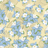Seamless floral pattern Royalty Free Stock Photography