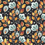 Seamless Floral Pattern (Vector) Royalty Free Stock Image