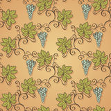 Seamless Floral Pattern (Vector) Royalty Free Stock Photo