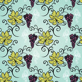 Seamless Floral Pattern (Vector) Stock Photography
